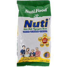 Sữa Bột Nguyên Kem Nutifood (400g)