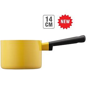 Nồi 1 Tay Cầm Decor Lock&Lock Milk LDE1142 (14cm) - Màu Vàng