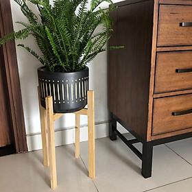 Kệ gỗ để chậu cây - Cho chậu cây đường kính 24- 26 cm