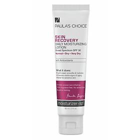 Kem Dưỡng Ẩm Phục Hồi Da Chống Oxi Hóa Chứa SPF 30 Paula's Choice Skin Recovery Daily Moisturizing Lotion SPF 30 (60ml)