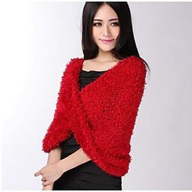 Khăn len nữ đa năng khăn choàng nữ giữ ấm Khăn quàng cổ - dona21012810