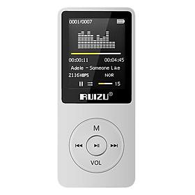 Máy Nghe Nhạc Mp3 Ruizu X02 (Trắng) - Hàng Chính Hãng