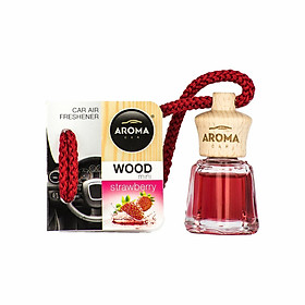 Tinh dầu treo Aroma Car Wood Mini 4ml Strawberry
