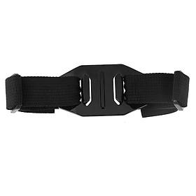 Adjustable Bike Helmet Strap Head Belt Mount Holder Adapter for GoPro Hero 4 / 3 + / 3 / 2 / 1 Accessories