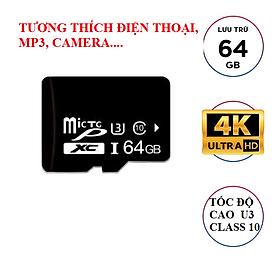 Biểu đồ lịch sử biến động giá bán Thẻ nhớ MicroSD Cl10 - 64GB