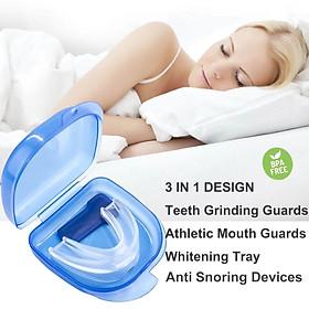 Miếng ngậm chống nghiến răng, chống ngáy, bảo vệ răng khi tập thể thao