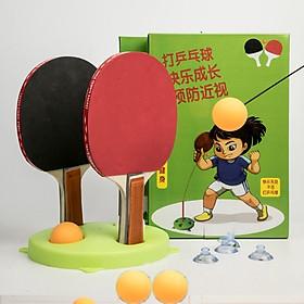 Bộ đồ chơi bóng bàn tự động luyện phản xạ
