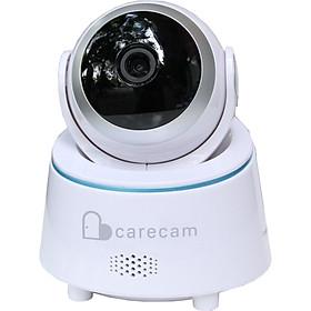 Camera wifi trong nhà Carecam LHY200 2.0MP Full HD, xoay 360 độ, đàm thoại 2 chiều, hỗ trợ thẻ nhớ lên đến 128G, Cảnh báo chống trộm, nhỏ gọn dễ lắp đặt – Hàng nhập khẩu