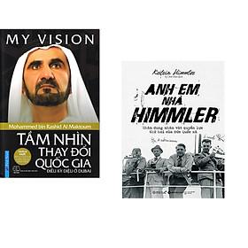 Combo 2 cuốn sách: My ViSion - Tầm Nhìn Thay Đổi Quốc Gia + Anh Em Nhà Himmler