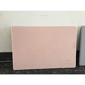 Thảm Đá Chùi Chân Siêu Thấm Công Nghệ Nhật Bản Thảm đá siêu thấm trơn 1 mầu không khắc hình TD02 - Hồng
