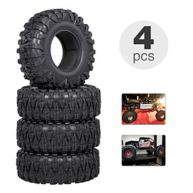 4PCS 2.2IN Crawler RC Tires Ultra Soft Rock Crawler Tires for 1/10 rc Rock Crawler Traxxas Trx4 TRX-6 Axial Scx10 90046