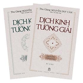 Combo 2 Cuốn Dịch Kinh Tường Giải (Di Cảo)