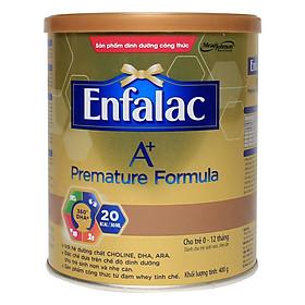 Sữa Enfalac A+ Premature Formula 400g cho trẻ sinh non, nhẹ cân