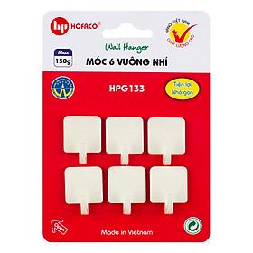 Hình đại diện sản phẩm Móc 6 Vuông Nhí Hofaco HPG133
