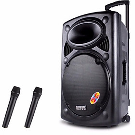 Loa kéo di động karaoke Temeisheng LA015/Model A108 (BASS 40CM) - Hàng chính hãng