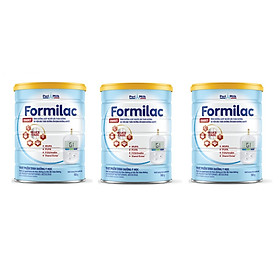 Bộ 3 Lon Sữa bột Formilac DIABET - 900g