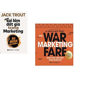 Combo 2 cuốn sách: Nghệ Thuật Dụng Binh Trong Marketing + Những Sai Lầm Đắt Giá Trong Marketing
