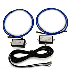 Magnetic Antenna Portable Passive Magnetic Loop Antenna for HF and VHF