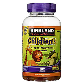 Kẹo dẻo Cho Trẻ Em Kirkland Signature Children's Complete Multivitamin Gummies – Hộp 160 Viên