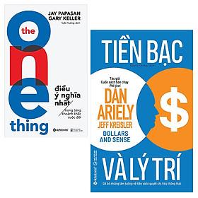 Combo Tiền Bạc Và Lý Trí và The One Thing - Điều Ý Nghĩa Nhất Trong Từng Khoảnh Khắc Cuộc Đời