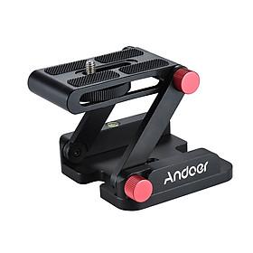 Bộ Nối Máy Ảnh Hợp Kim Nhôm Andoer Hình Chữ Z Có Thể Trượt Cho Máy Ảnh DSLR Canon Pentax
