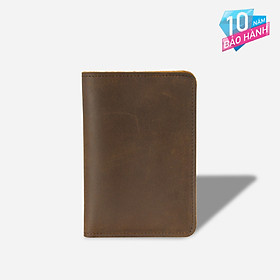 Ví passport cao cấp phong cách retro cổ điển – Ví đựng hộ chiếu da bò nguyên tấm cao cấp - VI0008