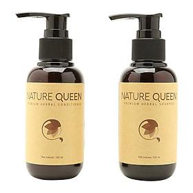 Bộ Nature Queen Dầu Gội Và Dầu  Xả (100ml/Chai)