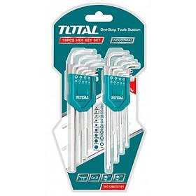 Bộ chìa lục giác và lục giác bông 18 chi tiết Total THT106KT0181