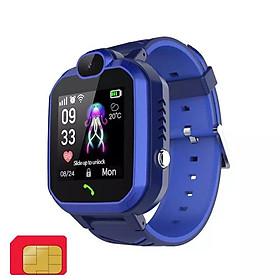 Đồng hồ thông minh định vị trẻ em ANNCOE R7 nghe gọi nhắn tin hai chiều chống nước IP67 - Hàng Chính Hãng