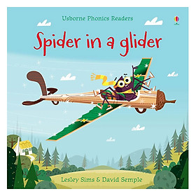 Usborne Phonics Readers: Spider In A Glider