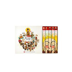 HOA SALA CỦA BÍ: BỘ 5 QUYỂN: TRUYỆN TRANH PHẬT GIÁO THIẾU NHI: PHIÊN BẢN VIỆT-ANH (cho trẻ tử 3-8 tuổi)