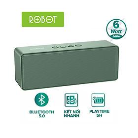 [HÀNG CHÍNH HÃNG] Loa Bluetooth ROBOT RB420 Công Suất 6W Pin 1200mAh Hỗ Trợ Thẻ Micro SD/USB/AUX - Kết Nối 2 Loa Cùng Lúc