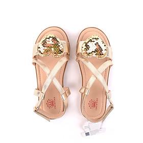 Sandals bé gái Crown Space Crown UK Princess sandals CRUK7018 - Màu Vàng