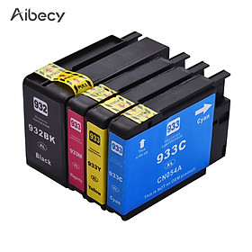 Hộp mực thay thế Aibecy năng suất cao tương thích cho 932 933 932XL 933XL / HP Officejet 6100 6600
