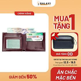 Ví Bóp Nam Da Bò Cao Cấp Galaxy Store GVN02A (12x10 cm) - Hàng Chính Hãng