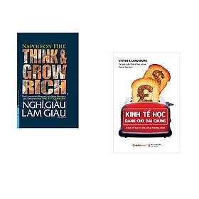 Combo 2 cuốn sách: Nghĩ Giàu và Làm Giàu (Bìa cứng) +Kinh tế học dành cho đại chúng