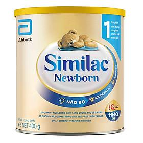 Sữa Bột Cho Bé Similac Newborn Eye-Q 400g Gold Label-0