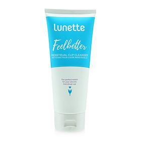 Nước vệ sinh cốc nguyệt san Lunette Feelbetter chuyên dụng dành riêng cho cốc sillicone  - 100
