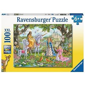 Xếp Hình Puzzle Princess Party Ravensburger RV104024 (100 Mảnh)