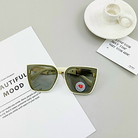 Mắt kính đổi màu nữ khi đi nắng tròng Poly chống chói chống tia UV400 Jun Secrect BD6818
