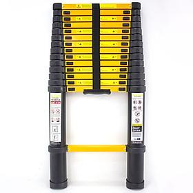 Thang nhôm rút gọn Sumika SKS440 - Chiều cao tối đa 4.4m, chiều cao rút gọn 0.92m, sơn tĩnh điện, chống trầy xước