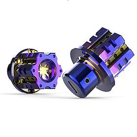 Đầu Chìa Khóa Độ Titan CNC Kiểu Salaya MS3118 - - Tặng Thêm 1 Móc Khóa Lò Xo Inox