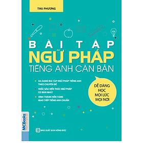 Sách Bài tập ngữ pháp tiếng Anh căn bản