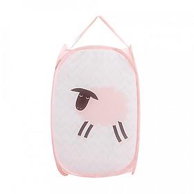 Hình đại diện sản phẩm Giỏ, rổ đựng đồ chơi ,quần áo dơ cho bé có thể xếp gọn dễ thương