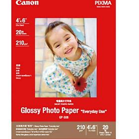 "Giấy In Ảnh Canon GP-508 (4""x6"" 20 Tờ)"