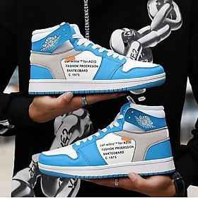 Giày nam thời trang sneaker năng động cao cổ thoáng khí