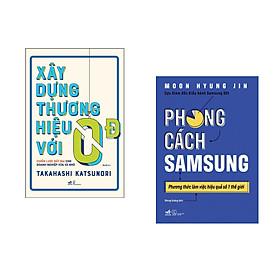 Combo 2 cuốn sách: Xây dựng thương hiệu với 0 đồng + Phong cách Samsung
