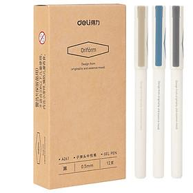 Bút Bi Deli 0.5mm DL-A263 (12 Cây / Hộp)