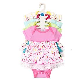 Set 5 Body Váy Cho Bé Gái Baby Wear ( Màu Ngẫu Nhiên )