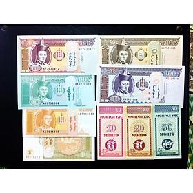 Bộ 9 tờ tiền cổ Mông Cổ mã đáo thành công